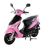 50cc Gas Street Legal Scooter TaoTao ATM50-A1 - Pink