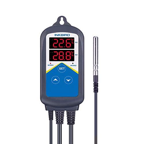 Inkbird ITC-306T Termostato Digital Control de Temperaturas con Sondas...