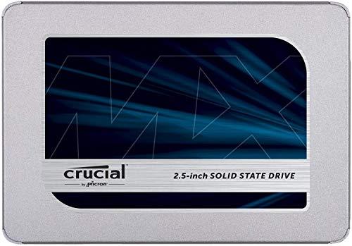Crucial SSD 1000GB MX500 内蔵2.5インチ 7mm MX500 (9.5mmアダプター付) 5年保証 【PlayStation4 動作確認】