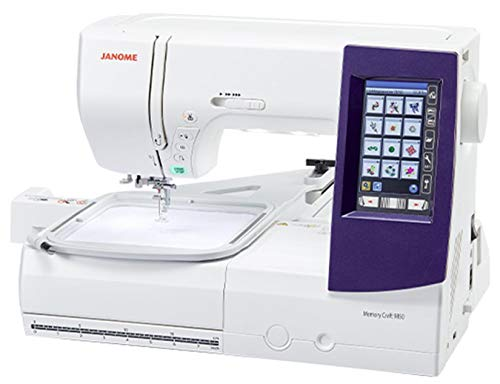 Product Image 5: Janome MC9850 Embroidery and Sewing Machine