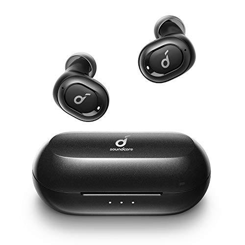 Upgraded, Anker Soundcore Liberty Neo True Wireless Earbuds, Pumping Bass, IPX7 Waterproof, Secure Fit, Bluetooth 5 Headphones, Stereo Calls, Noise Isolation, One Step Pairing, Sports, Work Out