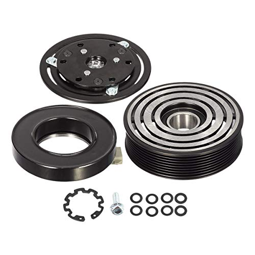 AUTEX AC Compressor Clutch Coil Assembly Kit Compatible with F-150 F-250 F-350 F-450 F-550 F-650 F-750 Labo Replacement for Blackwood Air Conditioning Repair Kit Clutch Coil