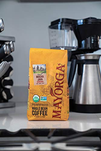 Mayorga Organics Mocha Java, 2lb Bag, Medium Roast Whole Bean Coffee, Specialty-Grade, 100% USDA Organic, Non-GMO Verified, Direct Trade, Kosher 4