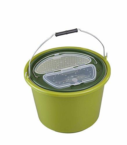Plastica Panaro 11612N.335 Secchio, Verde, 325 x 325 x 235