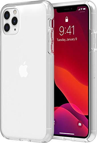 Incipio DualPro Dual Layer Case for Apple iPhone 11 Pro Max with Flexible Shock-Absorbing Drop-Protection - Clear