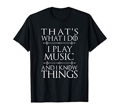 That's What I Do I Play Music Cool Musician Gift Men Women...