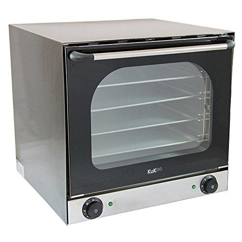 Kukoo - Forno a Convezione Elettrico con Doppia Ventola & 4 Ripiani di Cottura