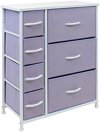 Sorbus Dresser with 7 Drawers - Furniture Storage Chest for Kid's, Teens, Bedroom, Nursery, Playroom, Clothes,...
