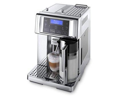 De'Longhi ESAM6720 PrimaDonna Avant Kaffeevollautomat, Edelstahl