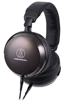 Audio-Technica ATH-AP2000TI Closed-Back Headphones, Black