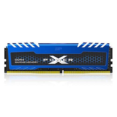 シリコンパワー デスクトップPC用メモリ DDR4-3200(PC4-25600) オーバークロック 8GB×1枚 永久保証 SP008GXLZU320BSA