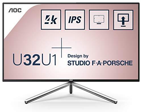 AOC Monitor U32U1 - 32' UHD, 60 Hz, IPS, FlickerFree, 3840x2160,...