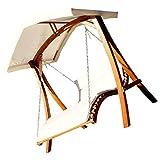 ASS Design Hollywoodschaukel Doppelliege aus Holz 'ARUBA'