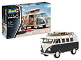 Revell 07674 - maquette de voiture VW T1 Camper à construire, échelle 1/24