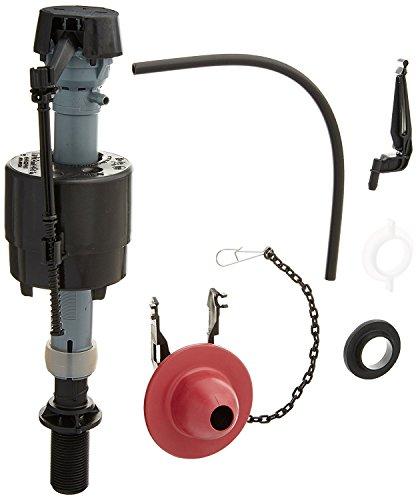 Fluidmaster 400CRP14 Toilet Fill Valve and Flapper Repair Kit for 2-Inch Flush Valves, Easy Install