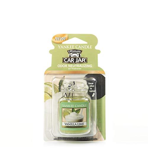 Yankee Candle 1220892E Deodoranti per Auto, Car Vaso Ultimate, Vanilla Lime