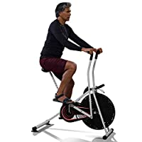 Lifelong Bike comes with fix handle, adjustable seat height and foot lock pedal which makes your exercise stress-free It has digital display meter which displays your exercise time, revolutions per minute (rpm), calories burnt; it tells you an accura...