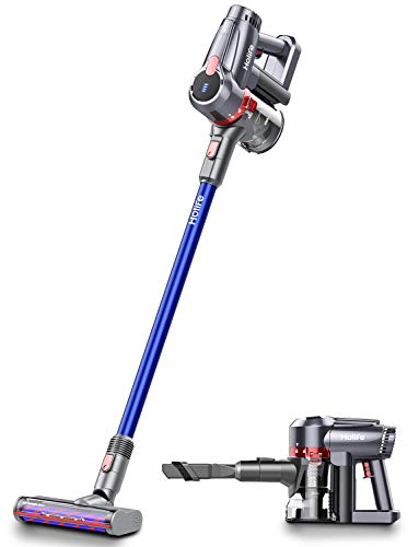 Holife 20Kpa Cordless Vacuum Cleaner, 4 in 1 Powerful Suction Stick Handheld Vacuum, 45Min Long-Lasting & 220W Lightweight Brushless Motor Vacuum for Home Hard Floor Carpet Car Pet Cleaning