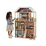 KidKraft 65956 Charlotte Dollhouse with Ez Kraft Assembly Dollhouses, Multicolor, 32.5 x 11.8 x 49