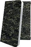 ケース らくらくスマートフォン F-42A 互換 手帳型 かっこいい カモフラ カモ 自衛隊 アメリカ……