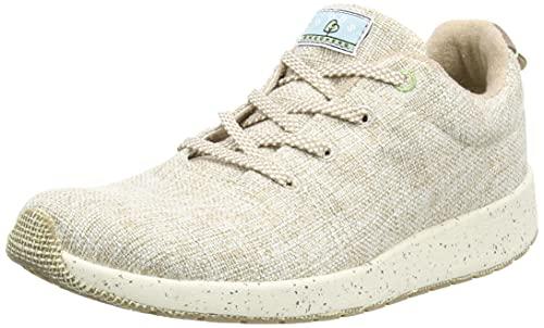 Skechers Bobs Earth, Zapatillas Mujer, Beige (Nat), 39 EU