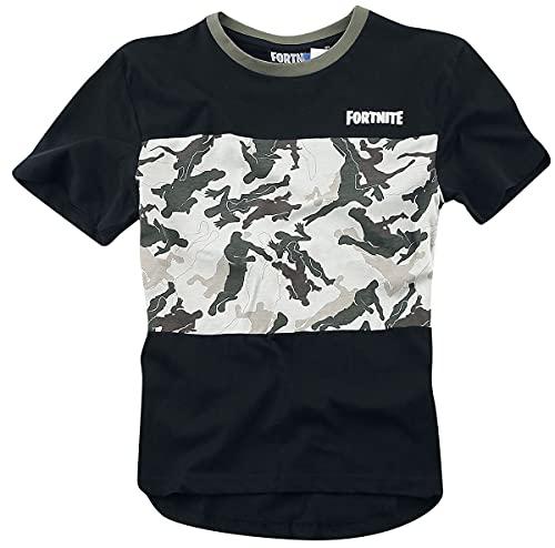Fortnite Camiseta, Negro, 10 años para Hombre