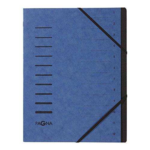 Pagna Ordnungsmappe 12-teilig aus Pressspan, 4005902