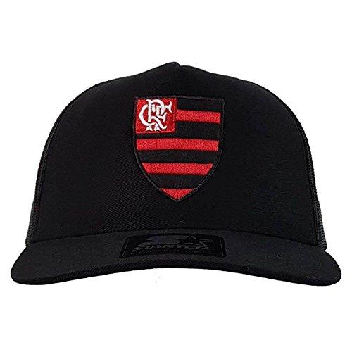 Boné Flamengo AMR Trucker Logo Oficial Starter UN