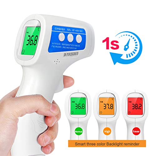 Lanafall Non-Contact Forehead Thermometer Medical Digital Thermometer Baby Adult Infrared Body Temperature Portable Measure Tool