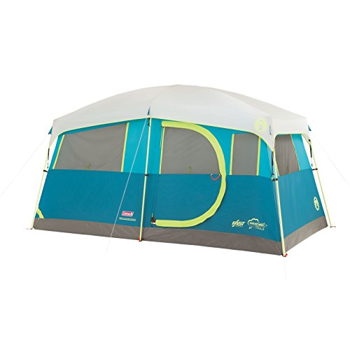 Coleman Tenaya Lake Fast Pitch Cabin Tent with Cabinets, 6-Person