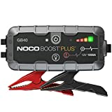 NOCO Boost Plus GB40 1000 Amp 12-Volt UltraSafe Portable Lithium Jump Starter, Car Battery Booster...