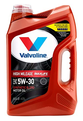 Valvoline - 881163 High Mileage with MaxLife Technology SAE 5W-30...