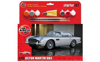 Airfix A50089B Medium Starter Set - Aston Martin DB5 Silver