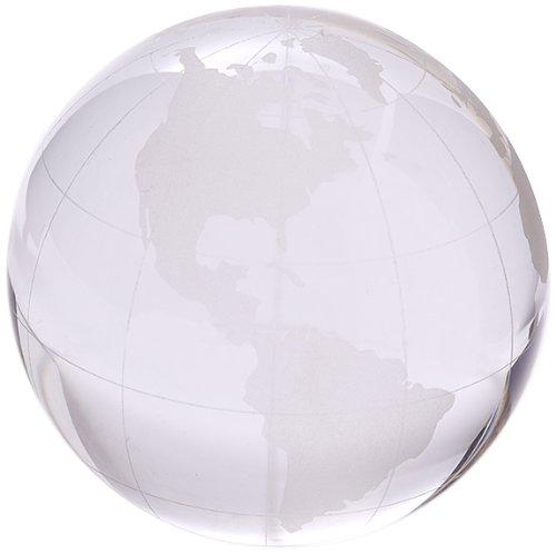 Pisapapeles vista globo grabado