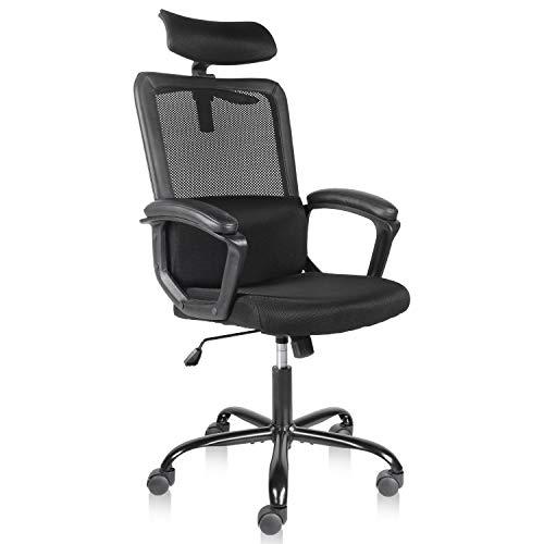 Smugdesk Office Chair, High Back Ergonomic Mesh...