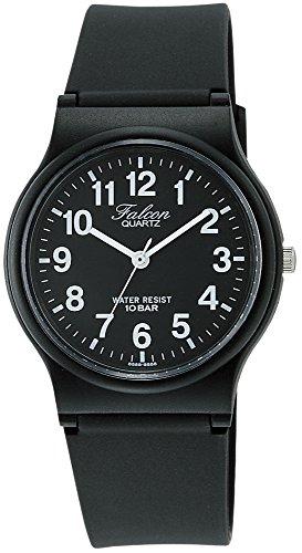 [シチズン Q&Q] 腕時計 アナログ 防水 ウレタンベルト VP46-854 ブラック