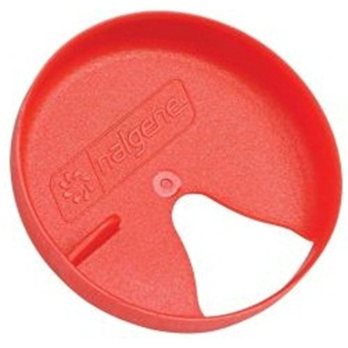 Nalgene Easy Sipper Cap for Wide Mouth Water Bottles - Red