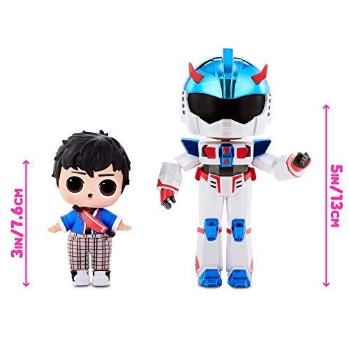Image 3 - LOL Surprise Garçons Héros d'Arcade - Figurine d'action - Avec 15 surprises, costumes de héros 6 pièces & accessoires