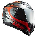 LS2 Helmets Challenger GT Cannon Full Face Street Helmet (Jean Fluo Orange - Small)