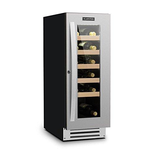 Klarstein Vinovilla Smart - Frigo per Vino, Refrigeratore per Bevande, Volume 50 Litri, 20...