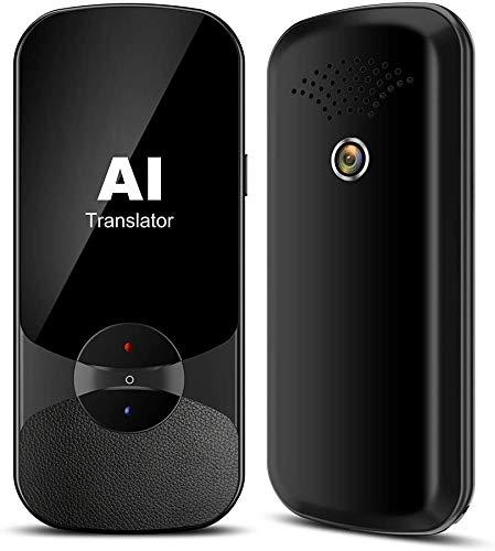 Convertisseur vocal avec 223 langues, traducteur de caméra portable,...