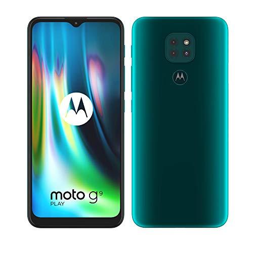 Motorola moto g9 play (tripla fotocamera 48MP, batteria 5000 mAh, display Max Vision 6.5