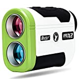 Bozily Golf Rangefinder, 1500 Yards 6X Hunting Laser Range Finder with Slope On/Off and Continuous Scan Mode, Fast Flag-Lock with Vibration for Distance and Slope Measurement