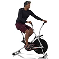 Lifelong air Bike comes with moving handle, adjustable seat height and foot lock pedal which makes your exercise stress-free It has digital display meter which displays your exercise time, revolutions per minute (rpm), calories burnt; it tells you an...
