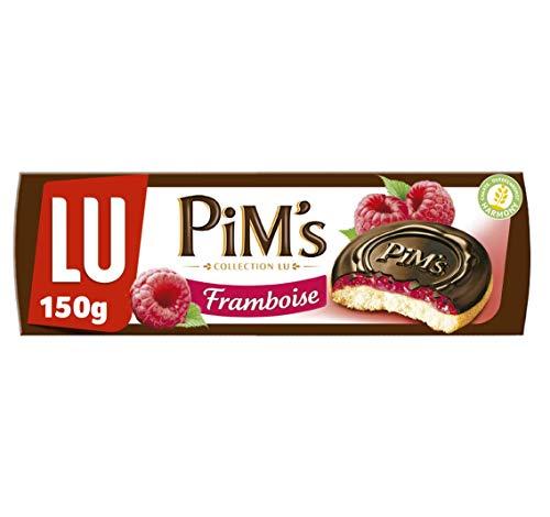 Lu Pim's Galletas Rellenas de Frambuesa y Cubiertas de Choco