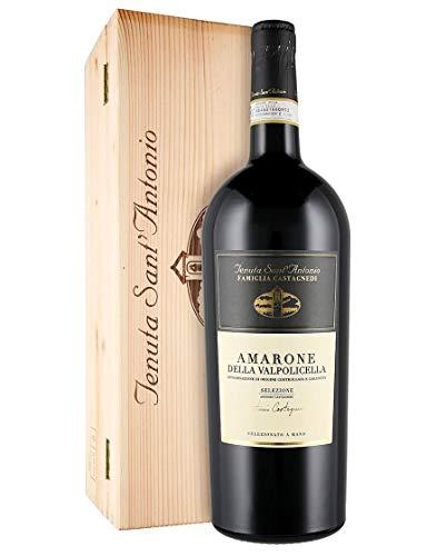 Amarone della Valpolicella DOCG Selezione Antonio Castagnedi Tenuta Sant'Antonio 2016 Magnum 1,5 L, Cassetta di legno