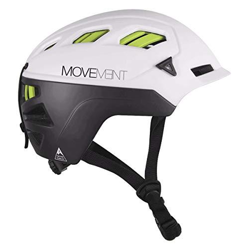 Movement M 3tech Alpi - Casco da uomo, taglia L, colore: Bianco/Nero