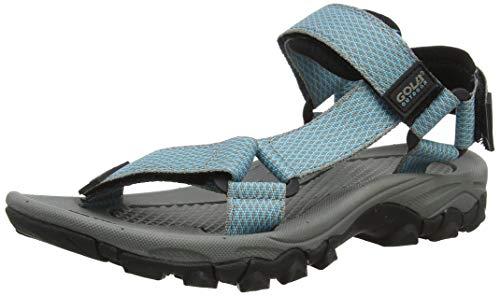 Gola Alp001, Sandalias de Senderismo Mujer, Azul (Aqua/Grey QG), 41 EU