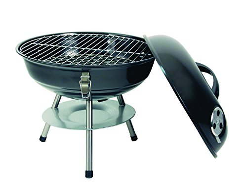 Product Image 2: Texsport Barbecue Mini Portable Charcoal BBQ Grill, Black