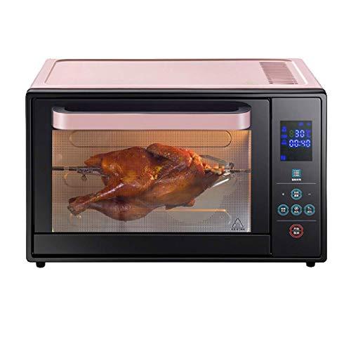 WSJTT Toaster-Ofen-Multifunktionsedelstahl mit Timer - Toast - Backen - Braten-Einstellungen, natürliche Konvektion - 1600 Watt Energie, schließt Backform und Zahnstange EIN